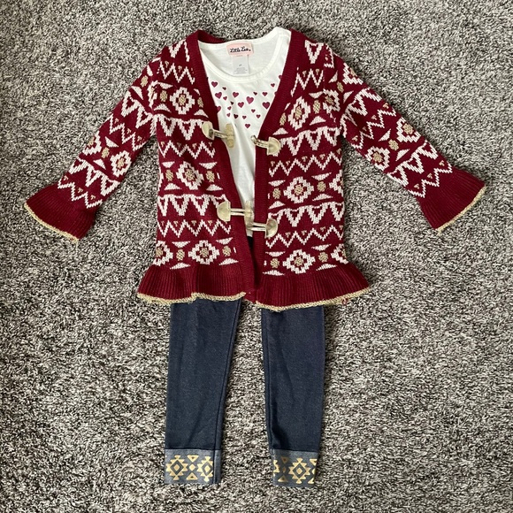 Toddler Girl's 3-Piece Outfit